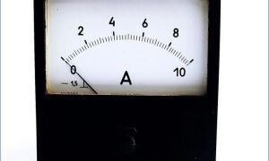 Как подключить амперметр, что это за прибор?