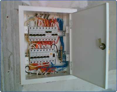 Компоновка автоматов в электрощите