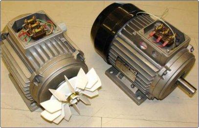 Асинхронный электрический двигатель