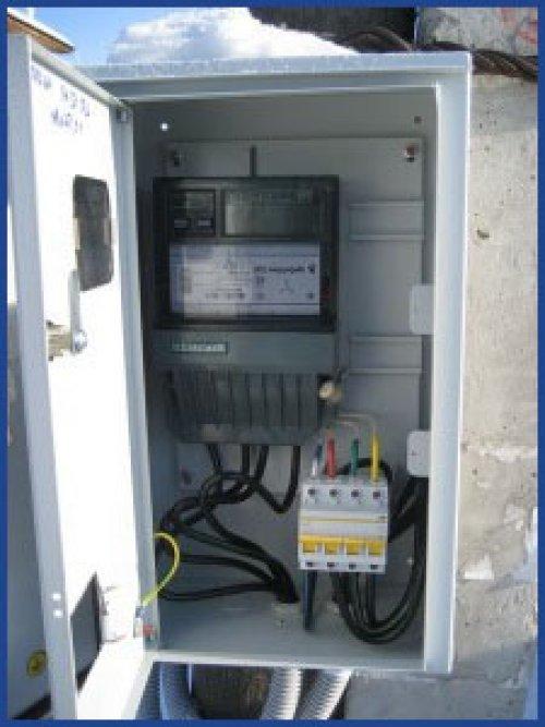 Шкаф электросчетчика