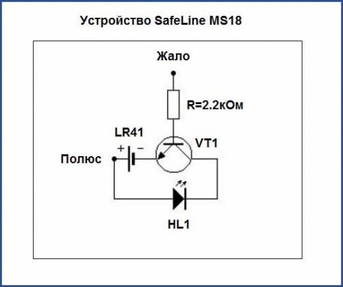 Устройство SafeLine MS18