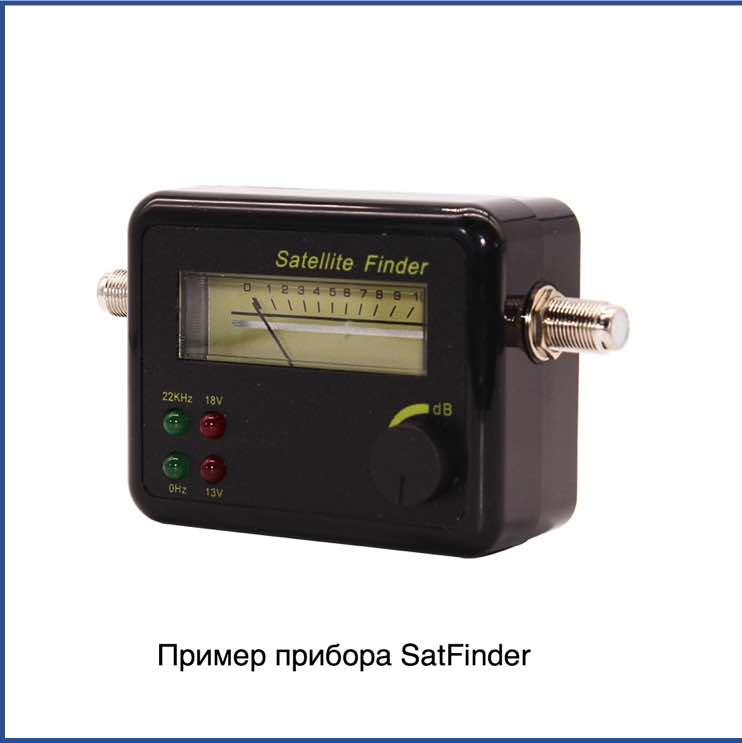 Пример прибора SatFinder