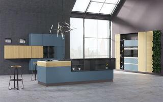 Производство кухонь под заказ в Киеве