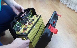 Тяговый аккумулятор для лодочного электромотора