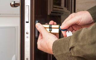 Как лучше менять личинки в дверном замке