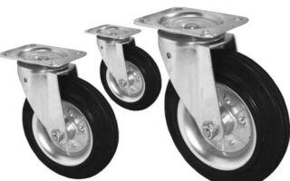 Как выбрать колеса для тележки