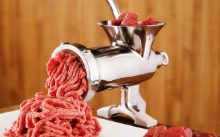 Преимущества владения мясорубкой