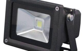 Светодиодные светильники на COB и SMD матрицах