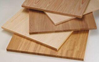 Особенности производства мебельного щита