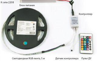Подсоединение энергосберегающих приборов освещения на базе светодиодов