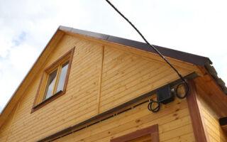 Световой проект здания: электрическая разводка