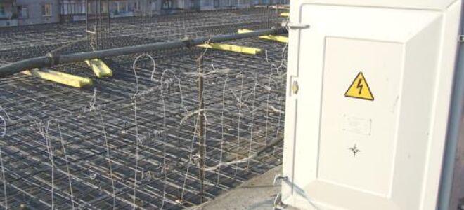 Способы прогрева бетона