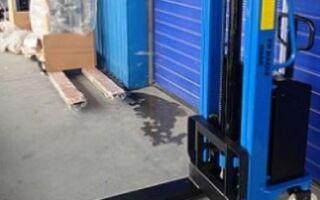 Применение и виды штабелеров для склада