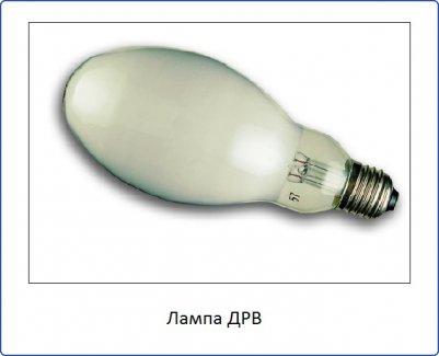 Лампа ДРВ