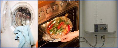 Стирка готовка нагрев воды
