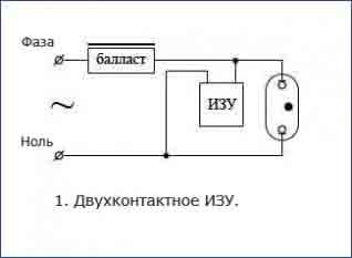 Двухконтактное ИЗУ (2)